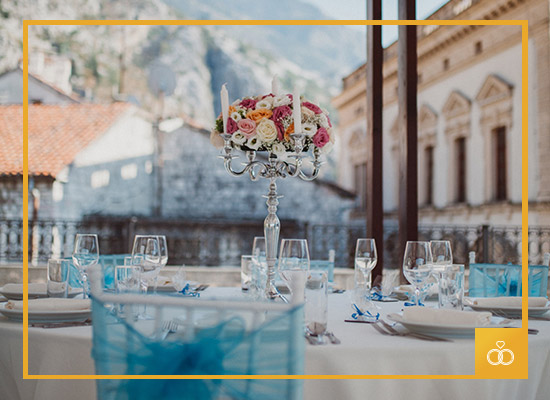 Organize your perfect wedding at our Historic Boutique Hotel Cattaro in our Venues