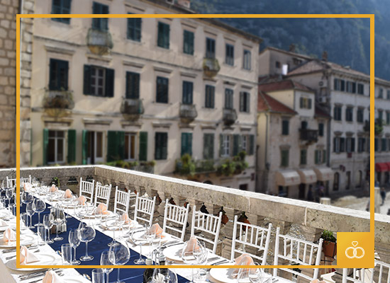 Organize your perfect wedding at our Historic Boutique Hotel Cattaro Fine Dining