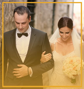 Organize the perfect wedding at our beautiful Historic Boutique Hotel Cattaro
