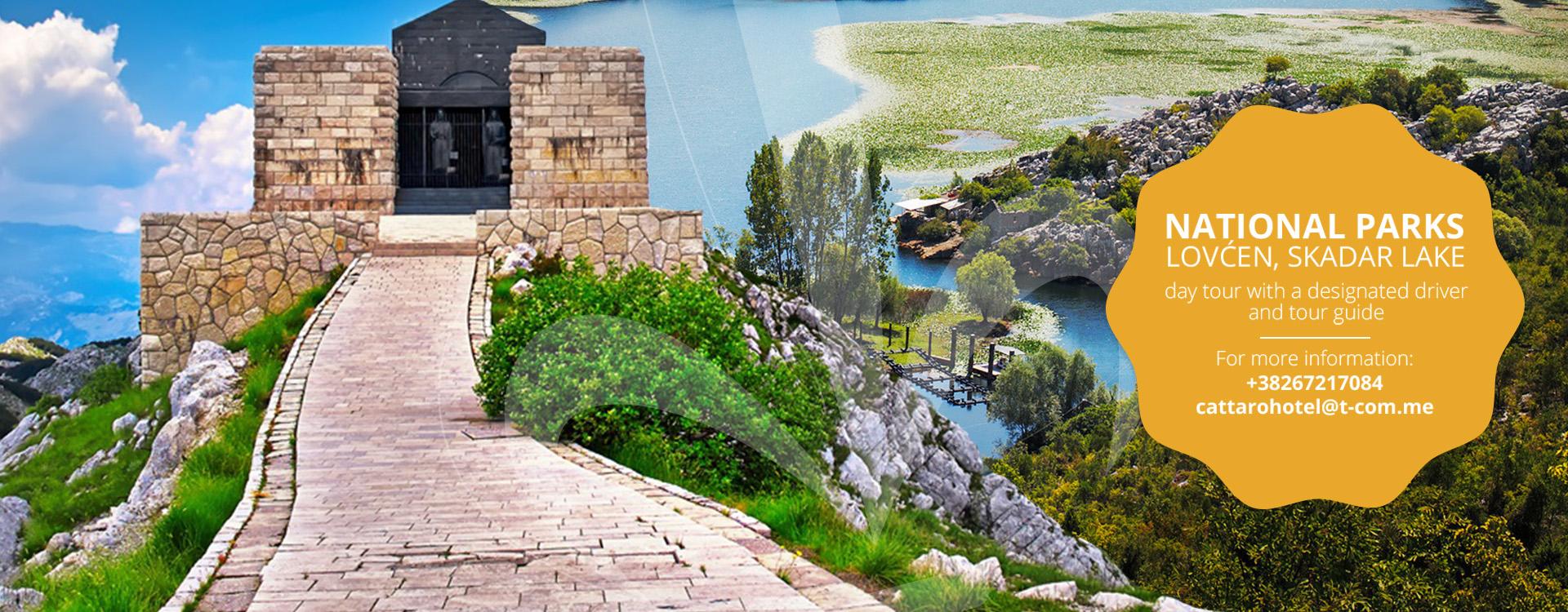 National parks - Cattaro tour